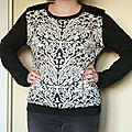 Challenge décembre: la blouse ou sweat!!!