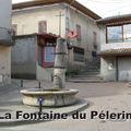La fontaine et la borne milliaire romaine