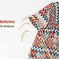 Bohemian style: la robe sakura d'ikatee couture