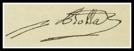 Botta général signature