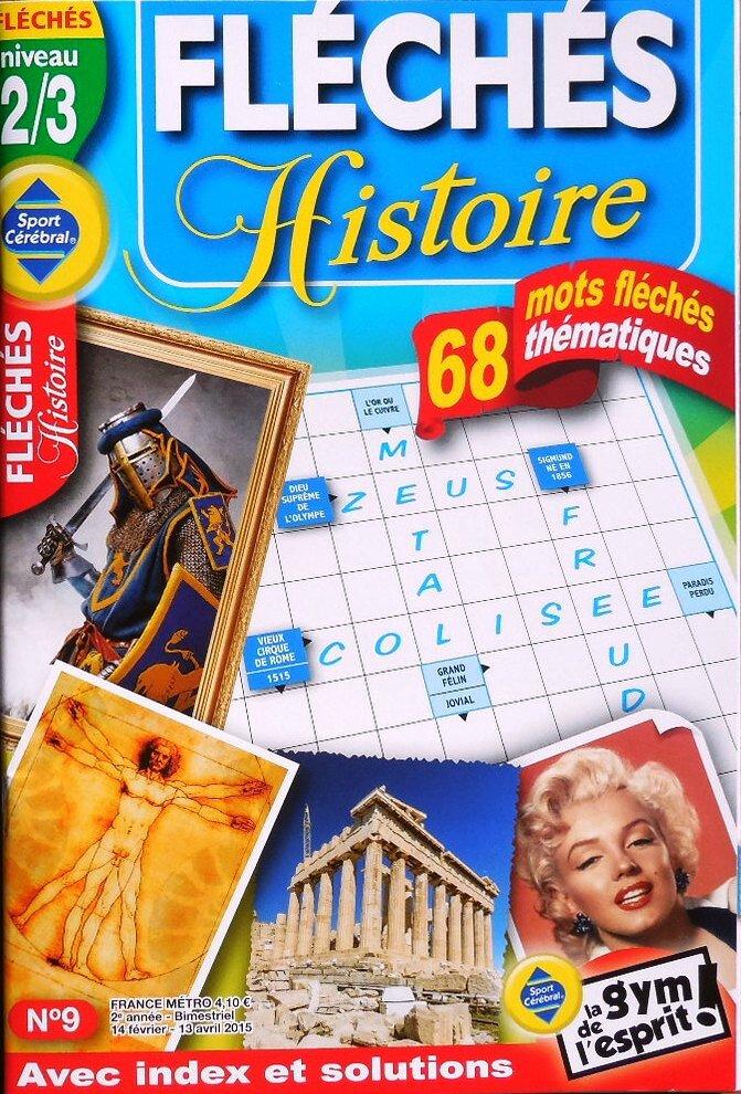 Fléchés Histoire (Fr) 2015