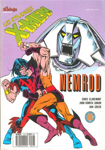 lug étranges x-men 12 nemrod