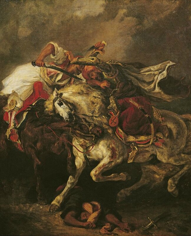 The Battle of Giaour and Hassan