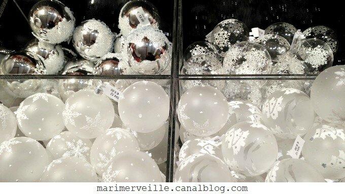 décorations de Noël Monts enneigés 6 -le bon marché - marimerveille
