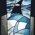 Création d'un vitrail au plomb Agde
