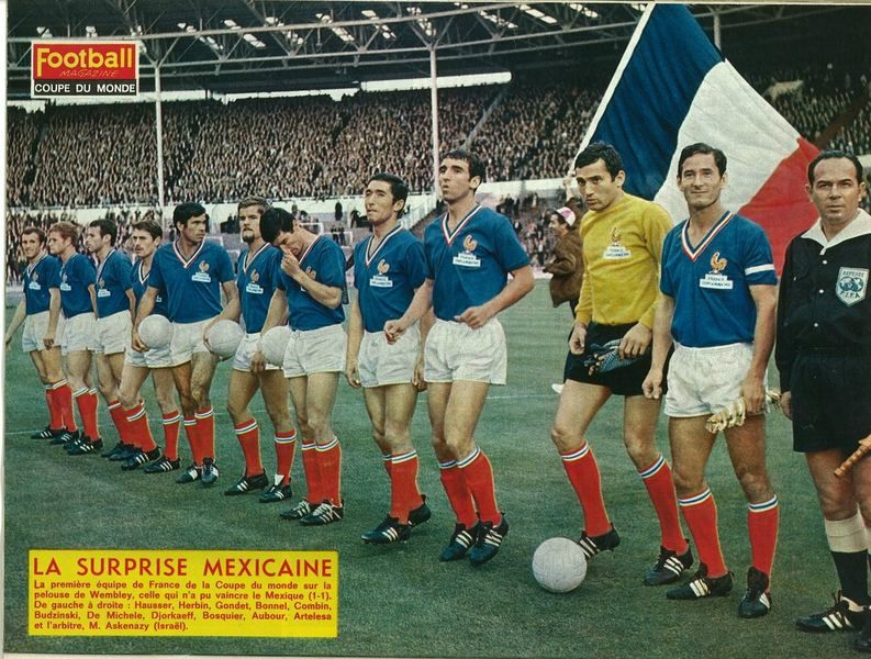 France vs Mexique-1-1-(13 juillet 1966) wembley