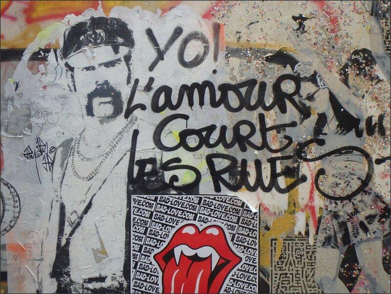 Paris graff 100316 44 amour court les rues cuir langue