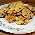Cookies aux flocons d'avoine