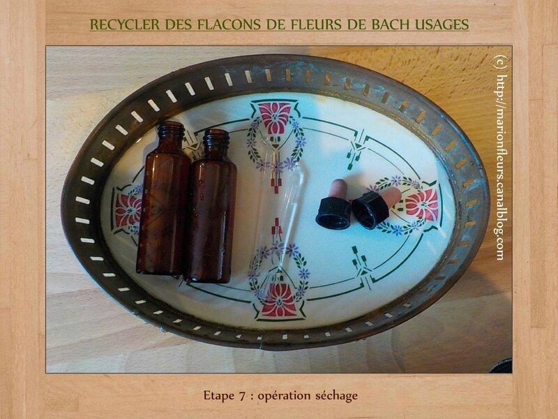 Etape 7 (recycler des flacons FDB)