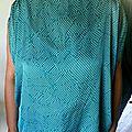 HAUT Turquoise/ CAROLINE