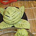 fleur en wasabi