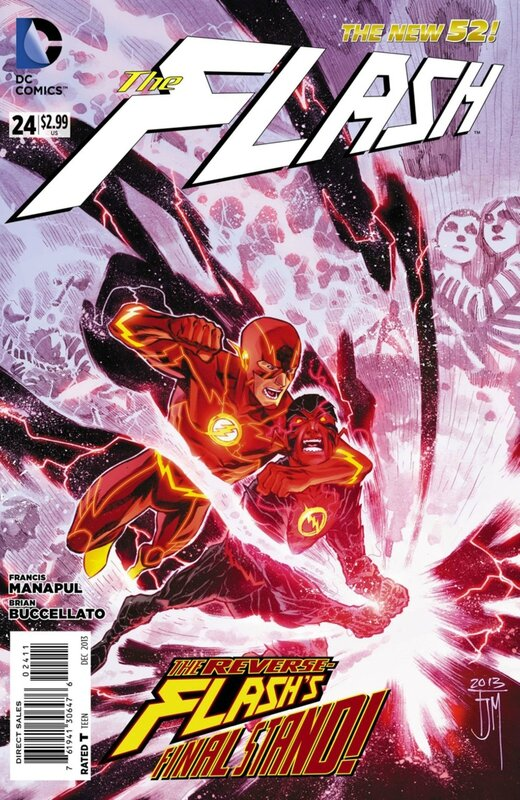 new 52 flash 24