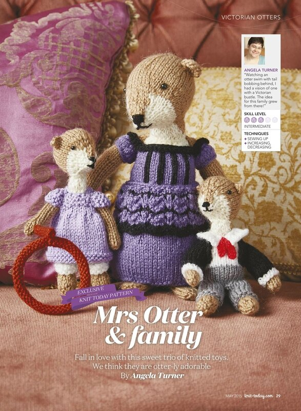 Traduction Mrs Otter and family - Angela Turner