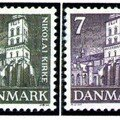 DANEMARK (2 timbres)