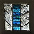 Archipelago 15 - dalle de verre -Collection privée - Clotilde Gontel