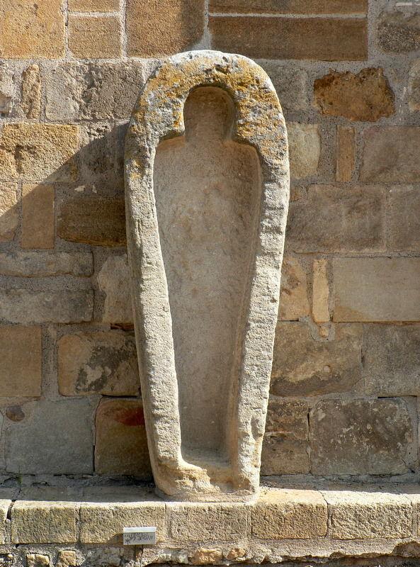 sarcophage, église Sainte-Martine à Pont-du-Château