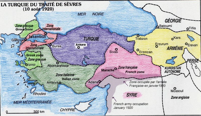 La turquie en 1920