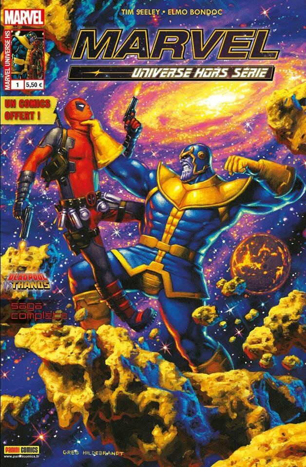 marvel universe hs 01 deadpool vs thanos