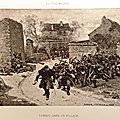 Médard, combat dans un village (1882)