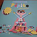Pépito super-héros & coccinelle ouvre ses ailes de yann walcker, magali le huche et nathalie choux