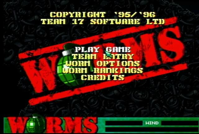 worms screen title