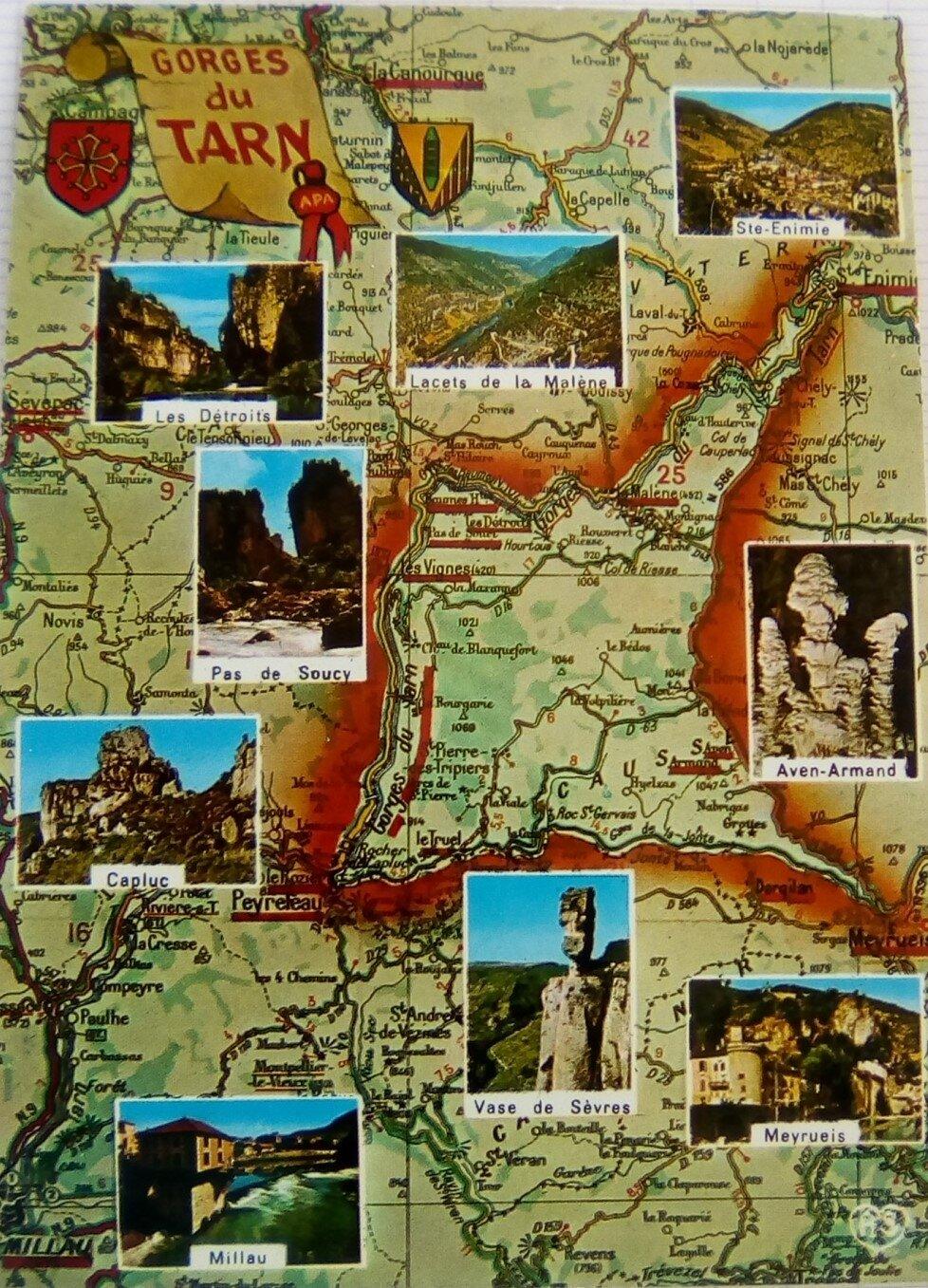Gorges du Tarn 0 - Gorges de la Jonte