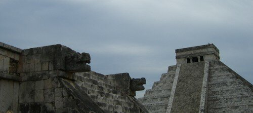 Chichen Itza - Venus Platform and El Castillo