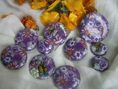 cabochon violet parme2