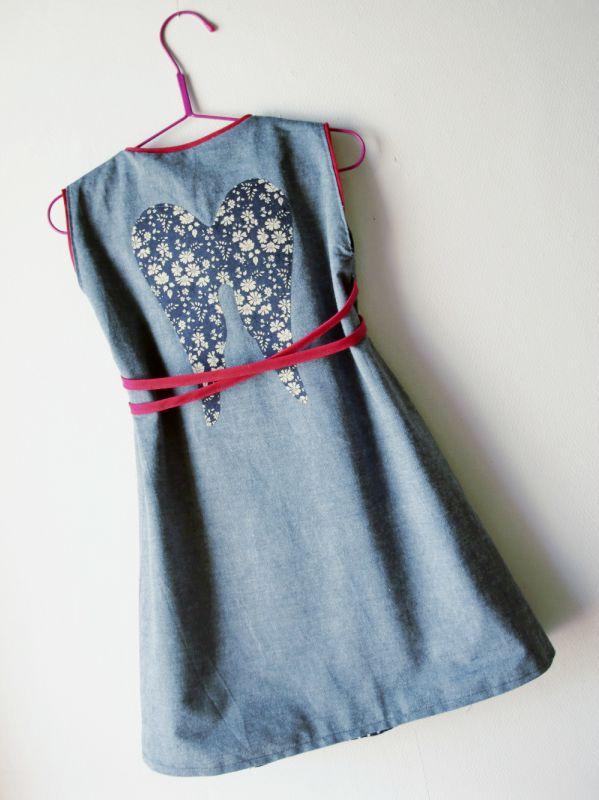 robe croisée verso/recto