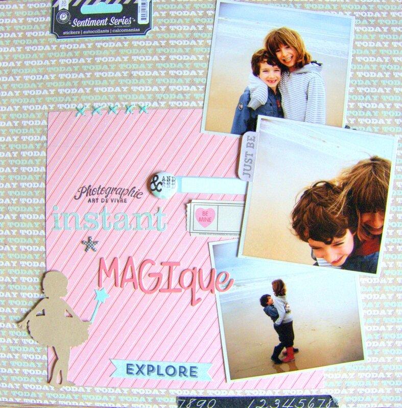Page instant magique