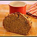 Cake amande-vanille sans gluten sans lactose