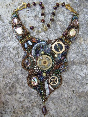collier rouages steampunk 016