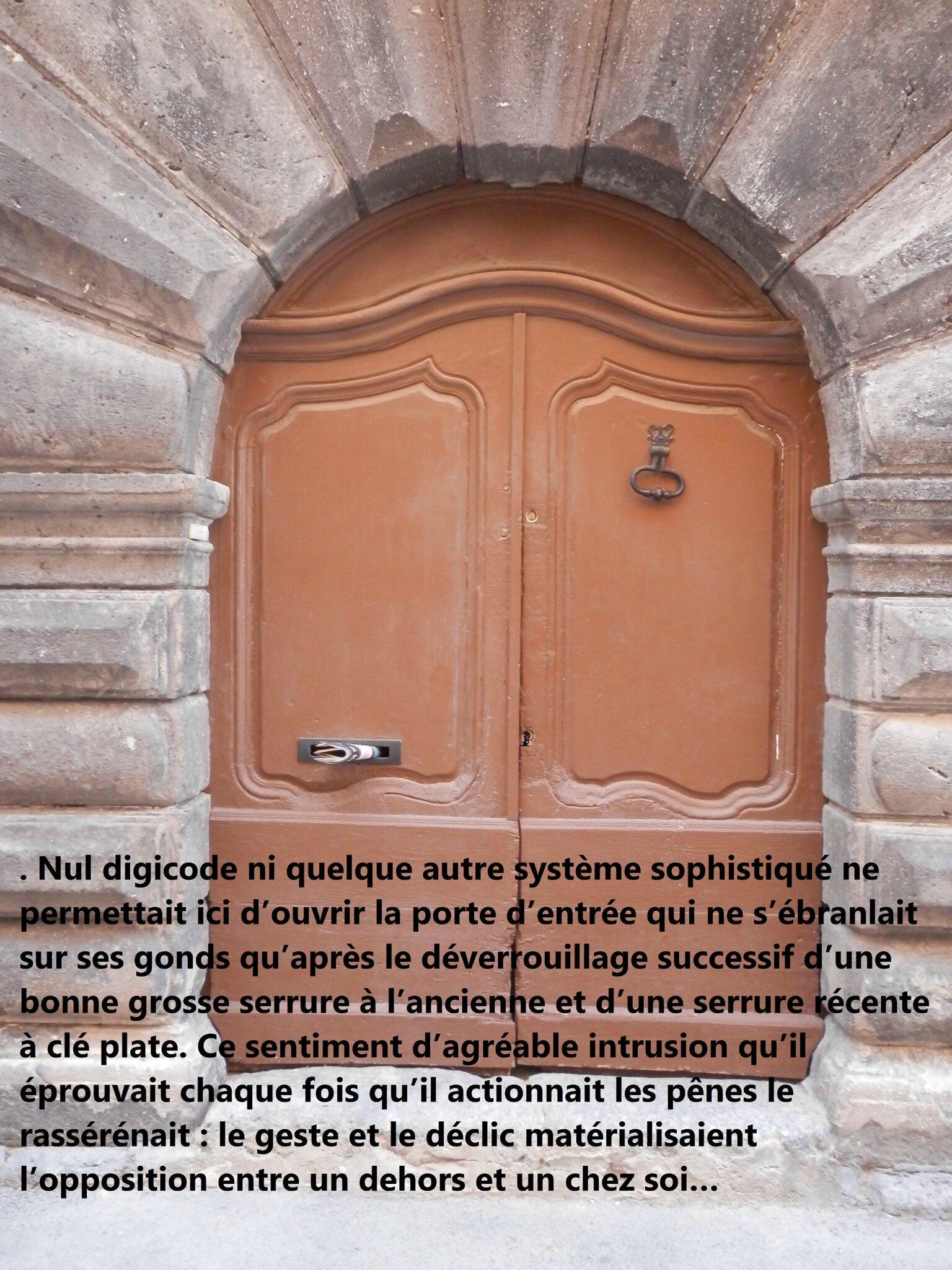 porte serrures Marseillan