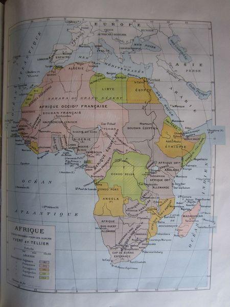 page 280 - Carte AFRIQUE