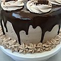 Layer cake kinder bueno