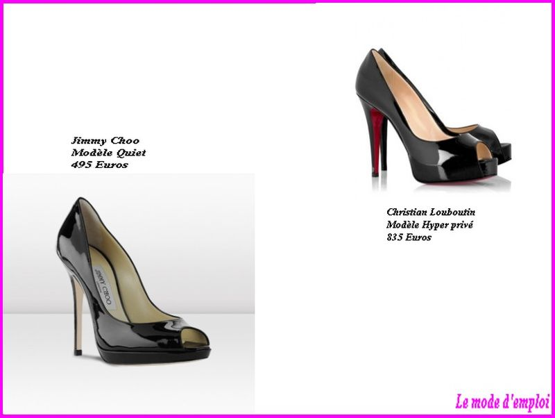chaussures louboutin jimmy choo