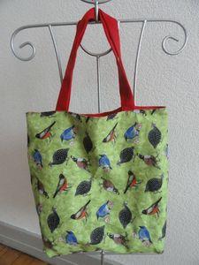Doublure sac oiseaux