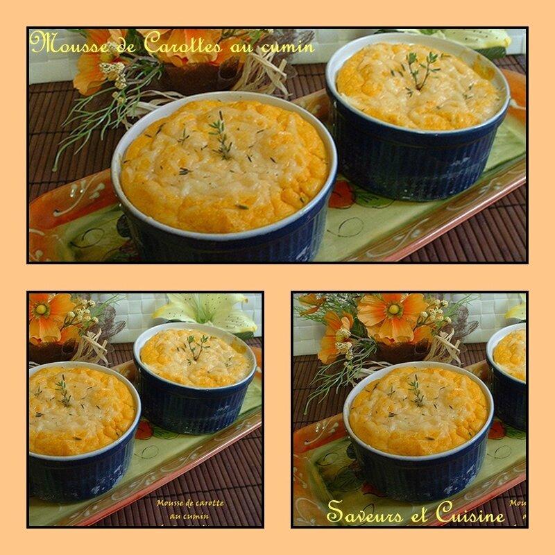 Mousse de carottes au cumin