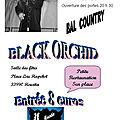 Samedi 15 juin 2019 - bal country avec black orchid à hourtin