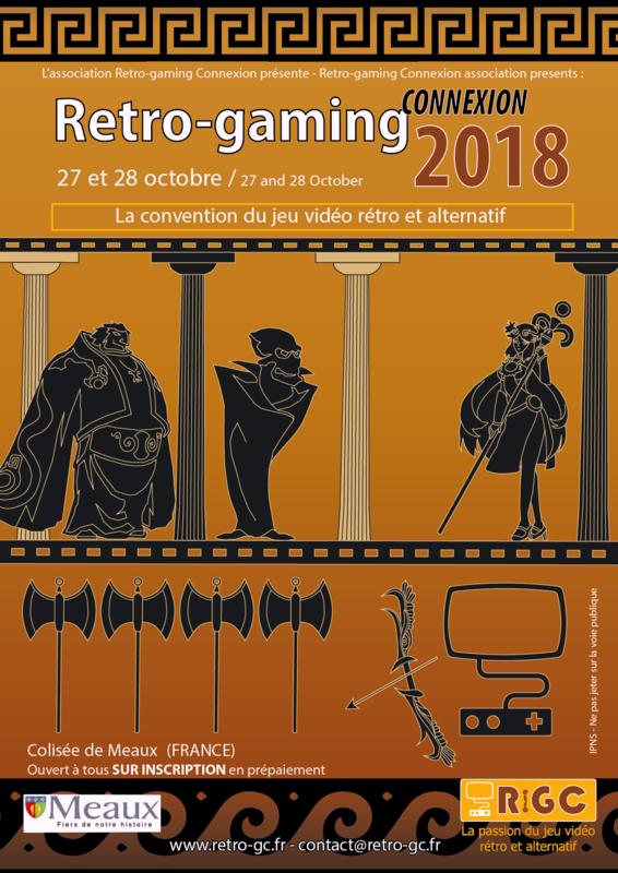 Retro-Gaming Connexion 2018