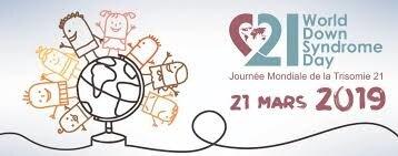 """Résultat de recherche d'images pour """"journée mondiale de la trisomie 21 21 mars 2019"""""""