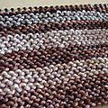 Mystery shawl kal 色選び - choix de couleurs
