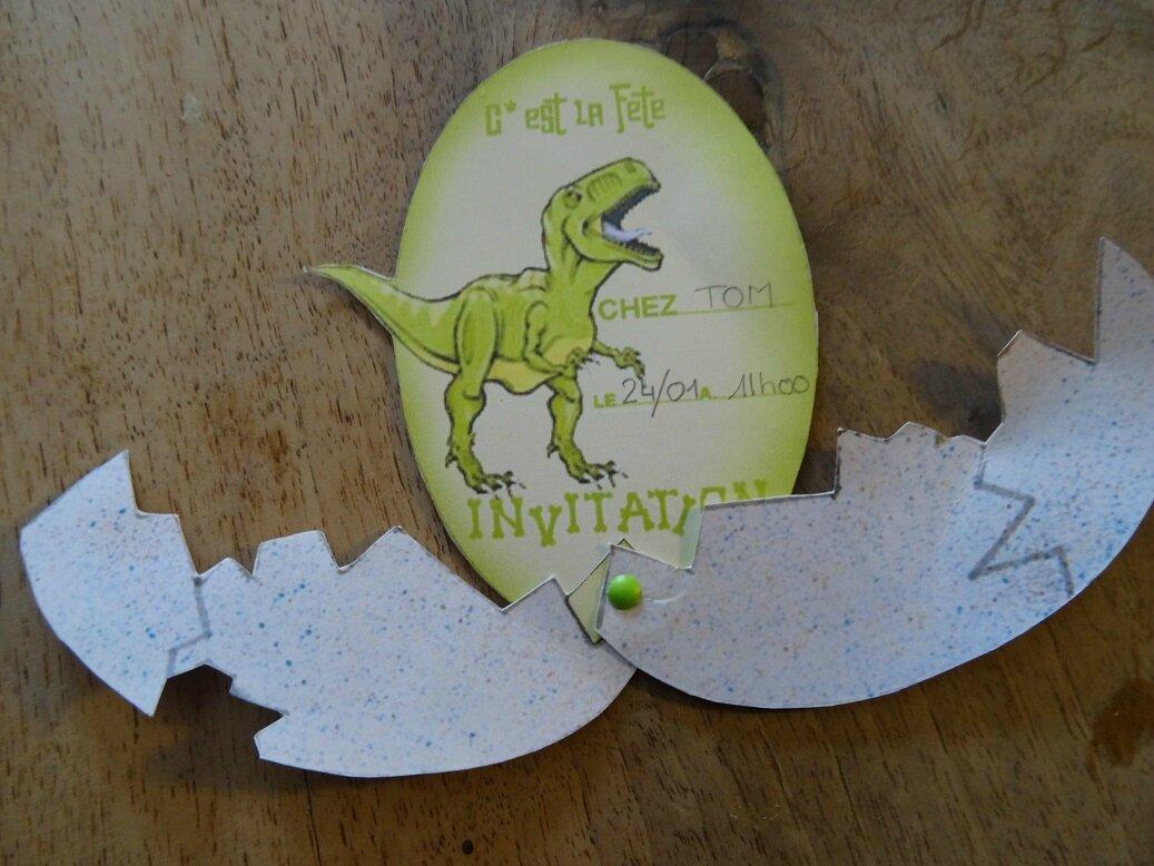 Carte Anniversaire Dinosaure Mamans Et Creations