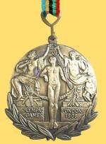 Médaille Londres 1908 R