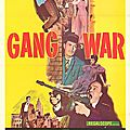 Gang war. syndicat du crime. gene fowler jr