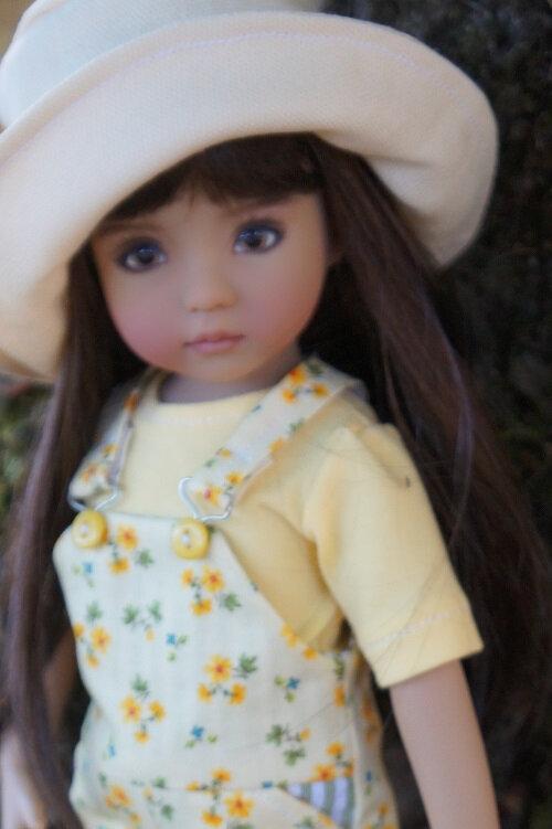 Les salopettes d'été pour Little Darling -Isabelle de Dianna Effner -
