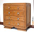 Mobilier ... commode 4 tiroirs * line