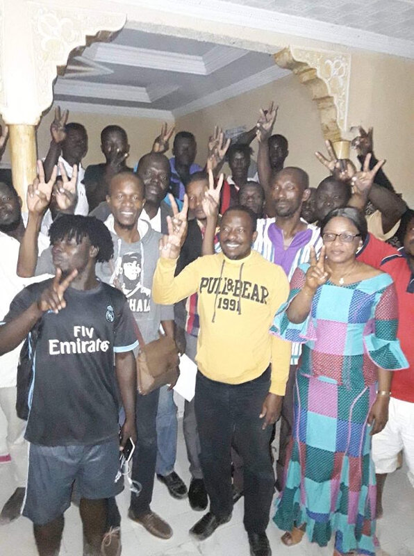 LA REPRÉSENTATION DU FRONT POPULAIRE IVOIRIEN EN MAURITANIE S'ACTIVE POUR LA VICTOIRE DU PRESIDENT LAURENT GBAGBO
