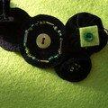 Collier noir et vert anis (bis)