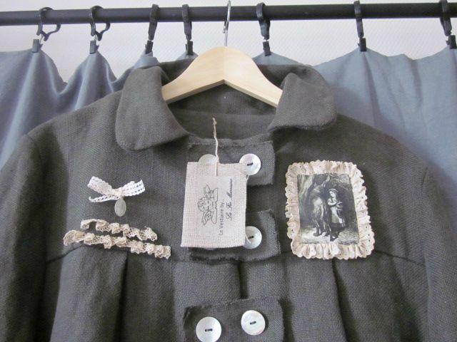 manteau d'été en lin kaki (3)